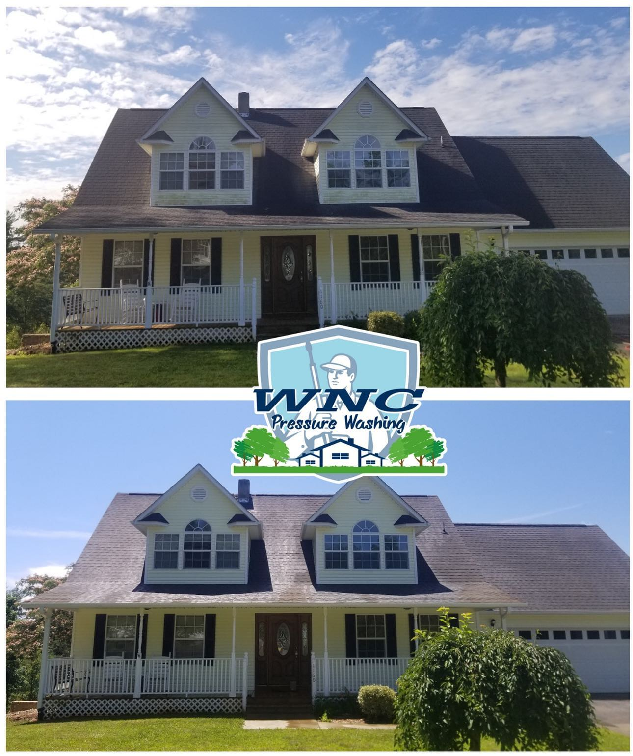 Roof Cleaning Asheville