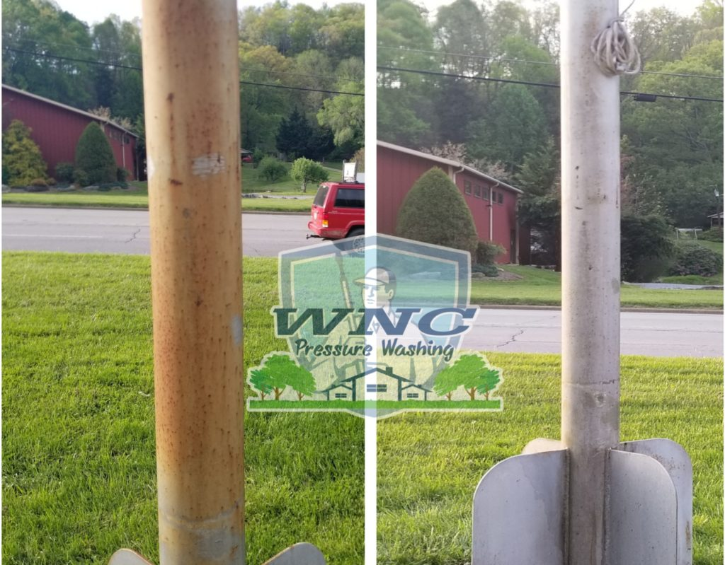 Rust Removal Pole