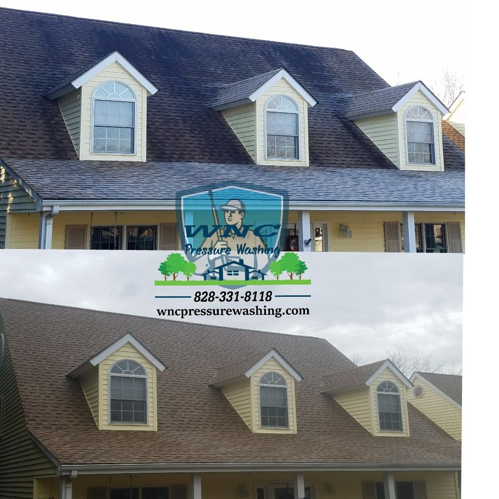 Soft Washing Roofs